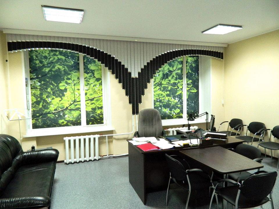 Шторы дизайн офиса
